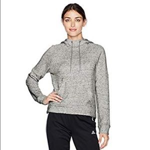 Adidas S2S Pullover Hoodie M Heather Gray